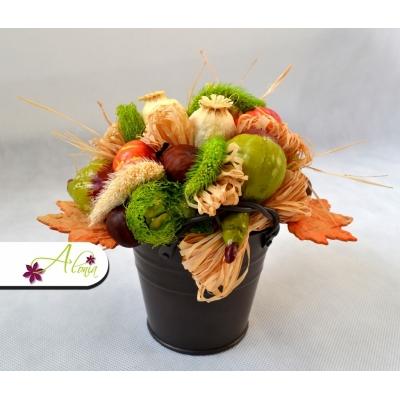 Handmade jesenná dekorácia