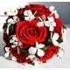 Svadobná kytica zo stabilizovaných kvetov