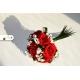 Stabilizované kvety vo svadobnej kytici