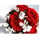 Trvanlivá netradiční svadobná kytica