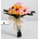 Svadobná kytica - žlté stabilizované ruže
