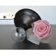 Svadobné pierko so stabilizovanou ružou - ružové, smotanové