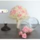 Svadobná kytica smotanová, růžová