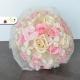 Stabilizovaná svadobná kytica ružová