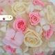 Konzervovaná svadobná kytica ružová