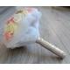 Svadobná kytica - biela, ružová, máslová