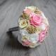 Svadobná kytica ktorá nezvädne - alternatíva látkové svadobné kytice