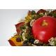 Jesenná svadobná kytica plná plodov