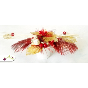 Aranžmán červený